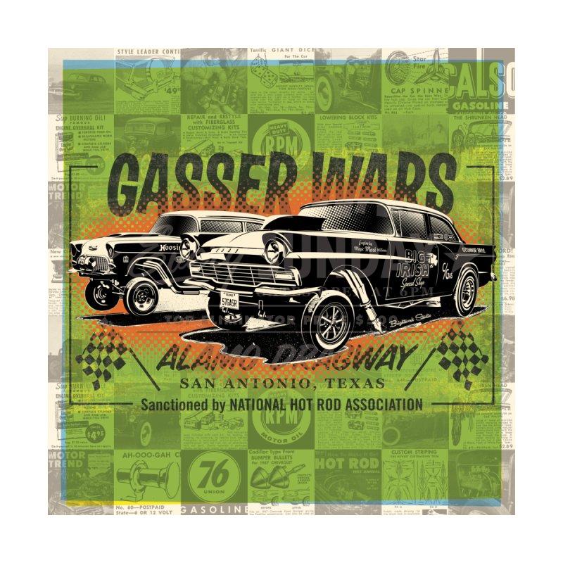 Gassers Wars Accessories Bag by Brightwork Studio Shop