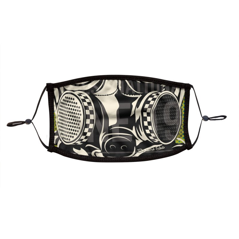 Legends of Drag Racing Accessories Face Mask by Brightwork Studio Shop