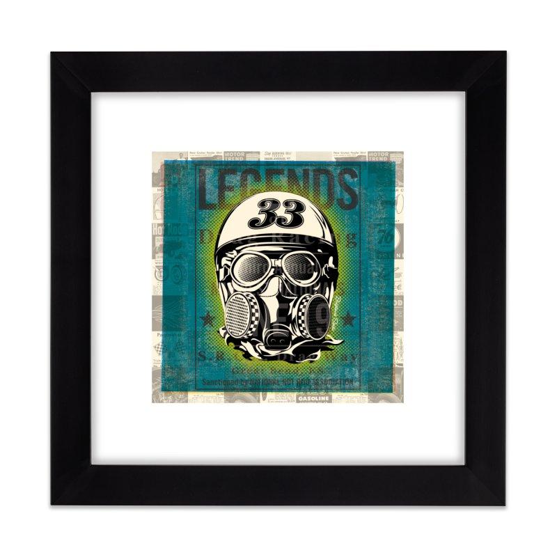 Legends of Drag Racing Home Framed Fine Art Print by Brightwork Studio Shop