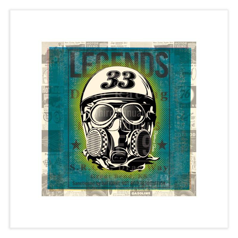 Legends of Drag Racing Home Fine Art Print by Brightwork Studio Shop