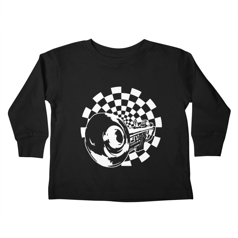 2 tone Kids Toddler Longsleeve T-Shirt by Brimstone Designs