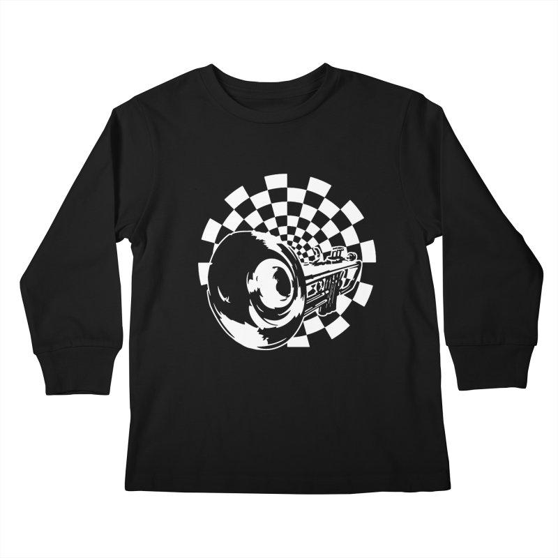 2 tone Kids Longsleeve T-Shirt by Brimstone Designs