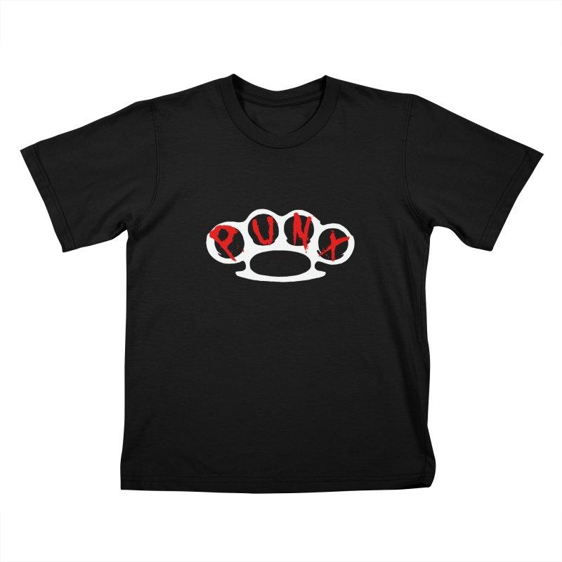 P U N X Kids T-shirt by Brimstone Designs