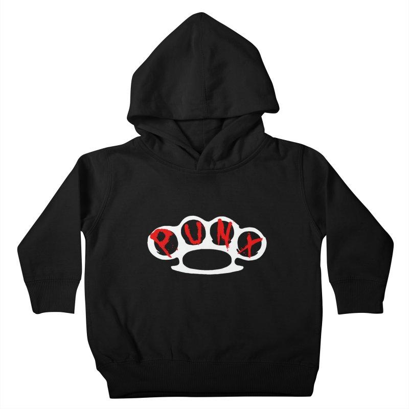 P U N X Kids Toddler Pullover Hoody by Brimstone Designs