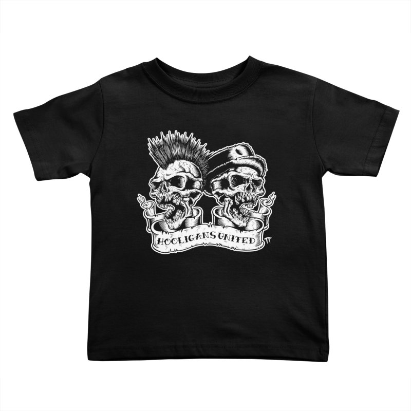 hooligans united Kids Toddler T-Shirt by Brimstone Designs