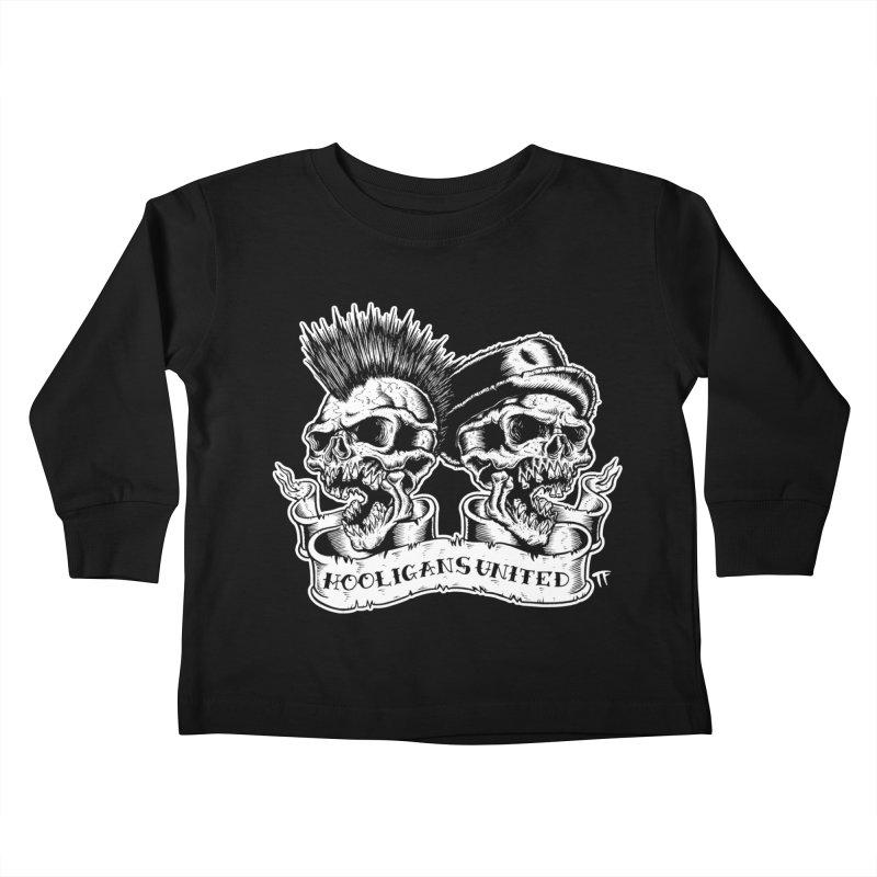 hooligans united Kids Toddler Longsleeve T-Shirt by Brimstone Designs