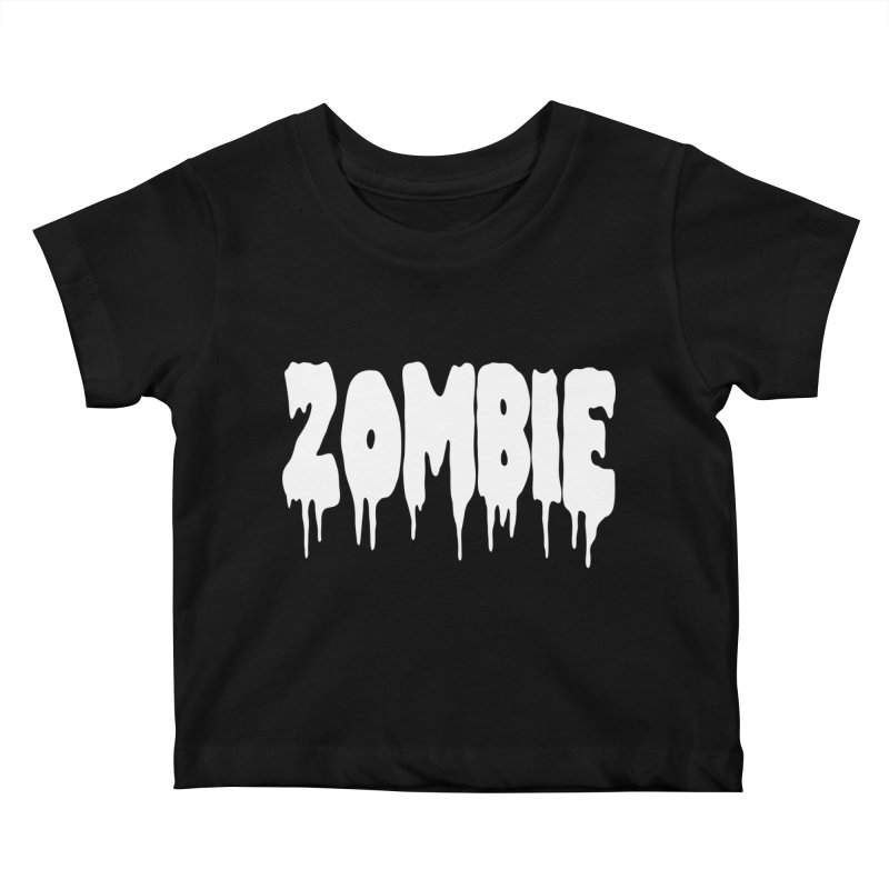 Z O M B I E Kids Baby T-Shirt by Brimstone Designs