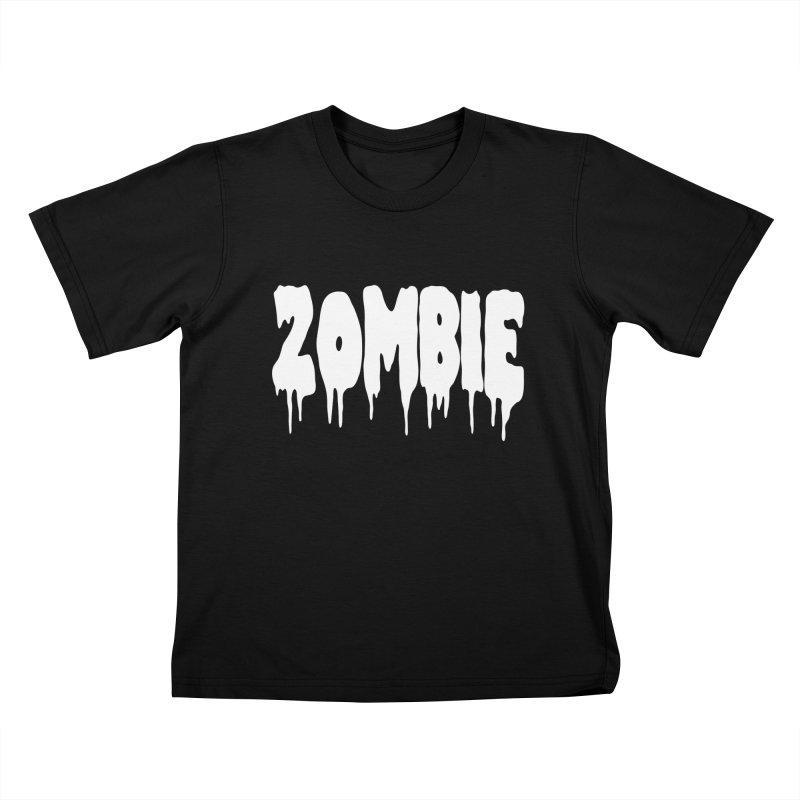 Z O M B I E Kids T-Shirt by Brimstone Designs