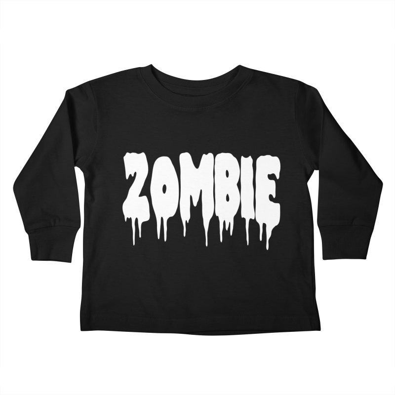 Z O M B I E Kids Toddler Longsleeve T-Shirt by Brimstone Designs