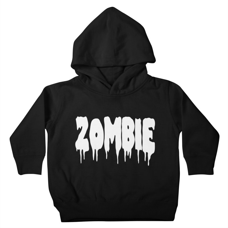 Z O M B I E Kids Toddler Pullover Hoody by Brimstone Designs