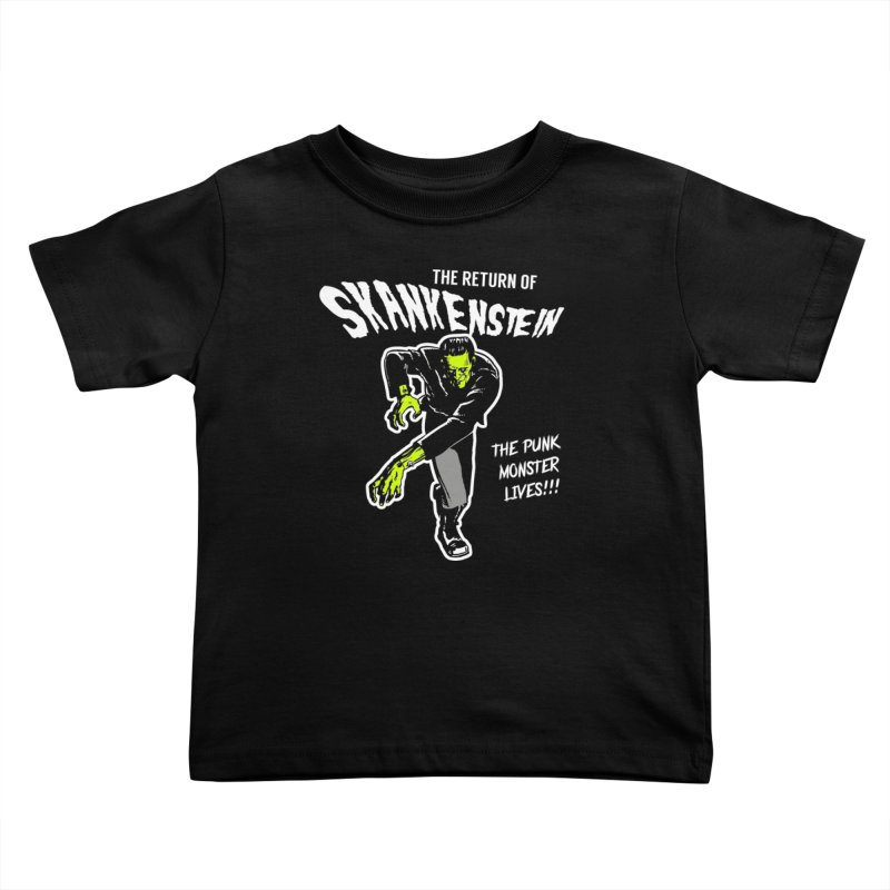 Skankenstein Kids Toddler T-Shirt by Brimstone Designs