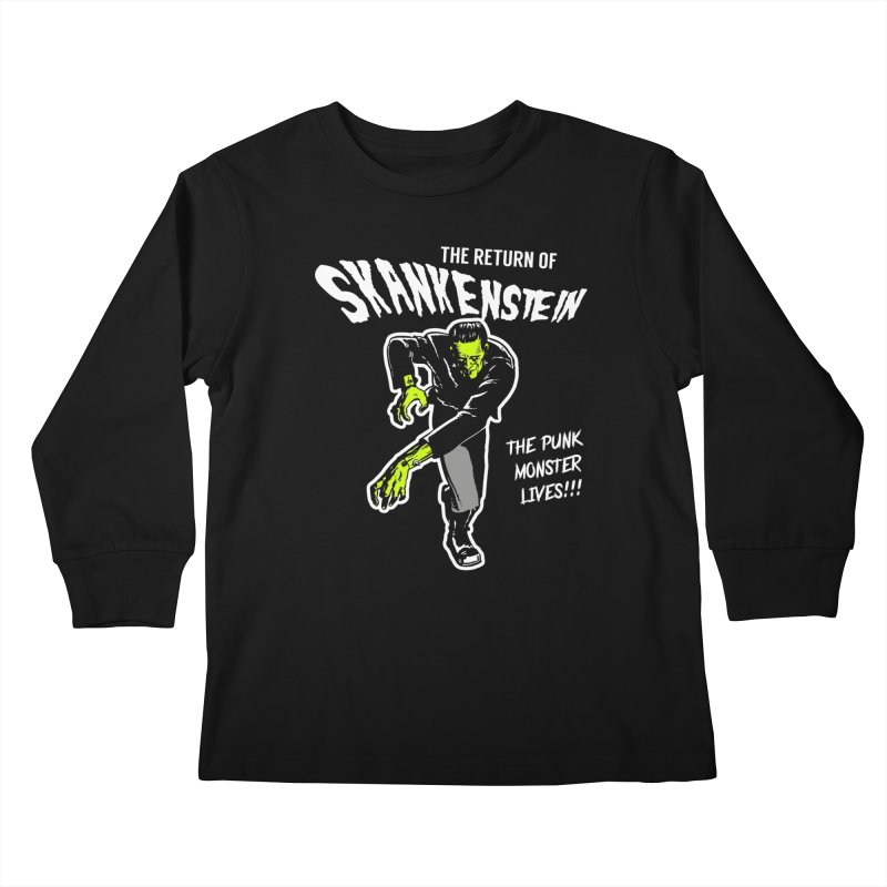 Skankenstein Kids Longsleeve T-Shirt by Brimstone Designs