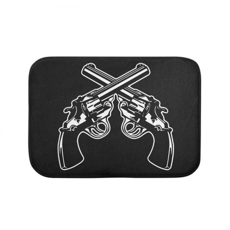 pistolas Home Bath Mat by Brimstone Designs