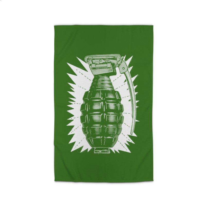 pineapple grenade  Home Rug by Brimstone Designs