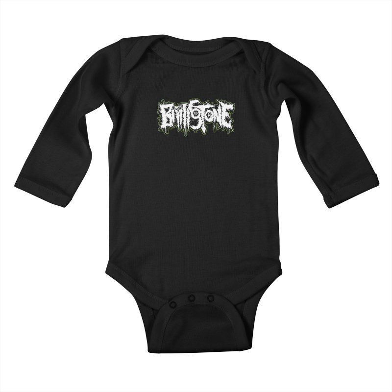 REND THY FLESH Kids Baby Longsleeve Bodysuit by Brimstone Designs
