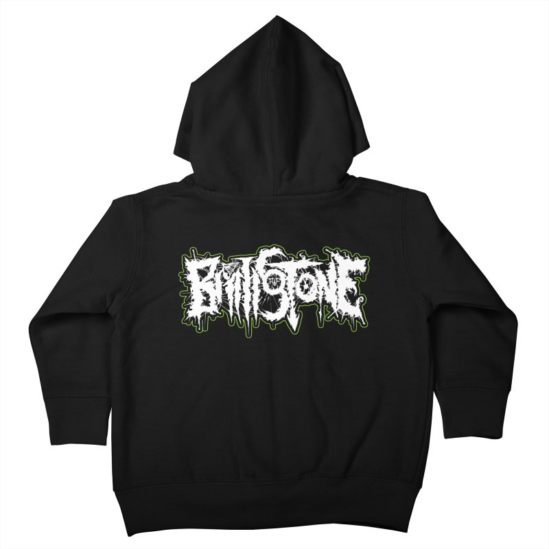 REND THY FLESH Kids Toddler Zip-Up Hoody by Brimstone Designs