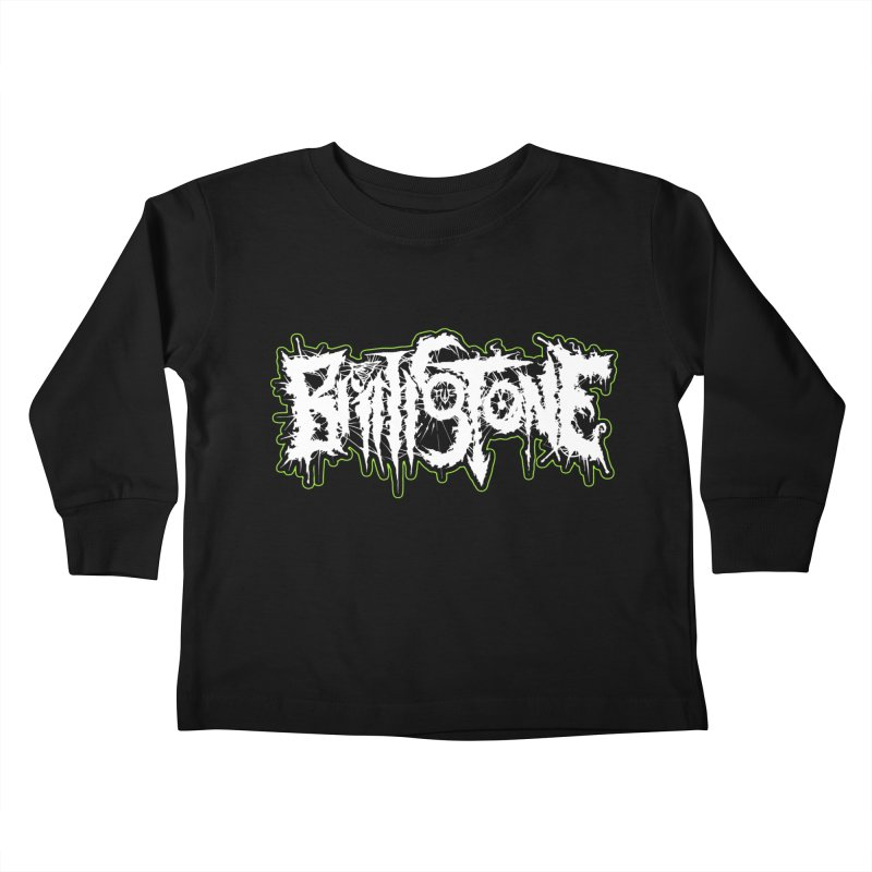 REND THY FLESH Kids Toddler Longsleeve T-Shirt by Brimstone Designs