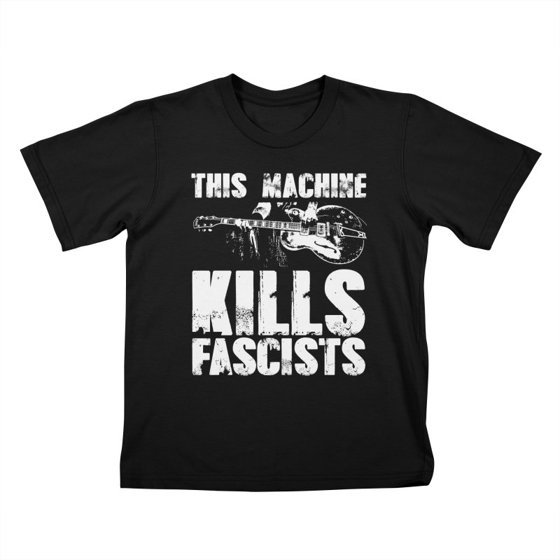 this machine Kids T-shirt by Brimstone Designs