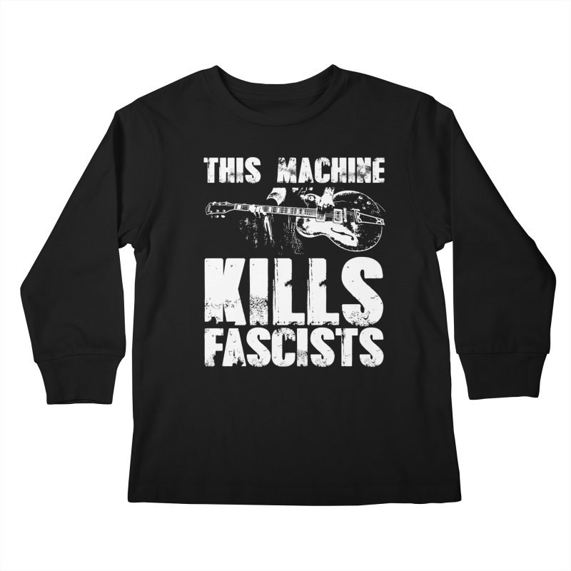 this machine Kids Longsleeve T-Shirt by Brimstone Designs