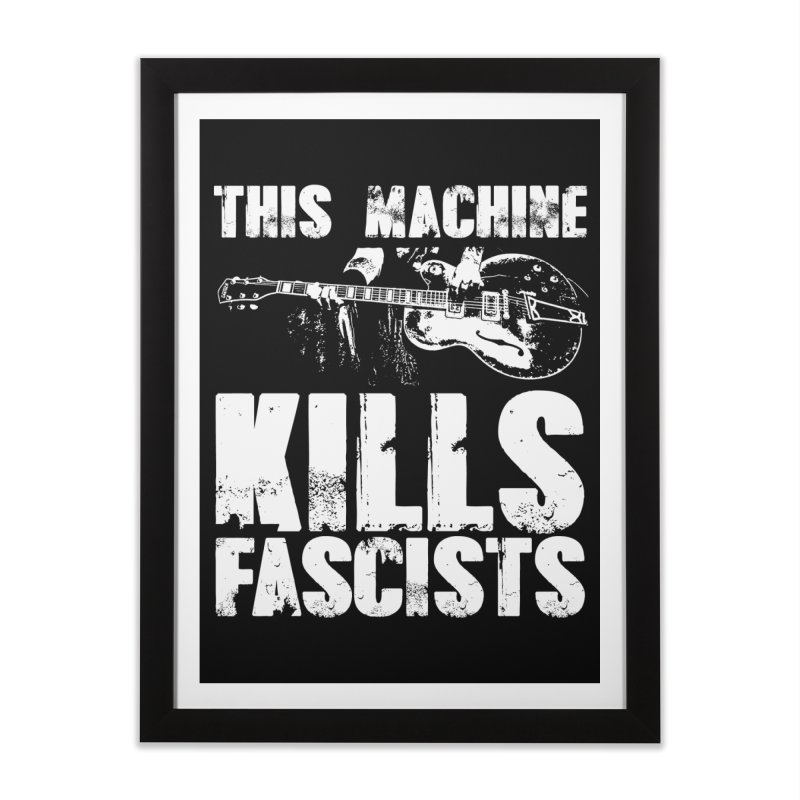 this machine Home Framed Fine Art Print by Brimstone Designs