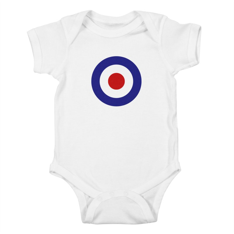 roundel Kids Baby Bodysuit by Brimstone Designs
