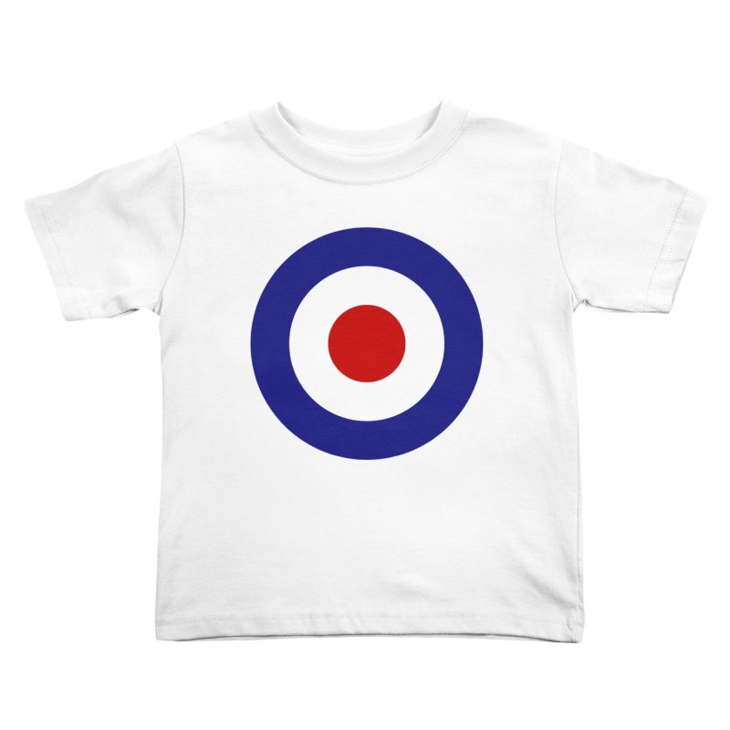 roundel Kids Toddler T-Shirt by Brimstone Designs
