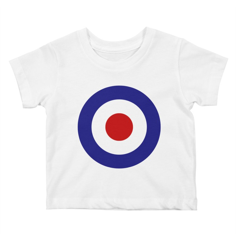 roundel Kids Baby T-Shirt by Brimstone Designs