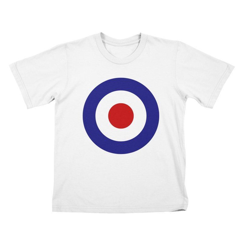 roundel Kids T-Shirt by Brimstone Designs