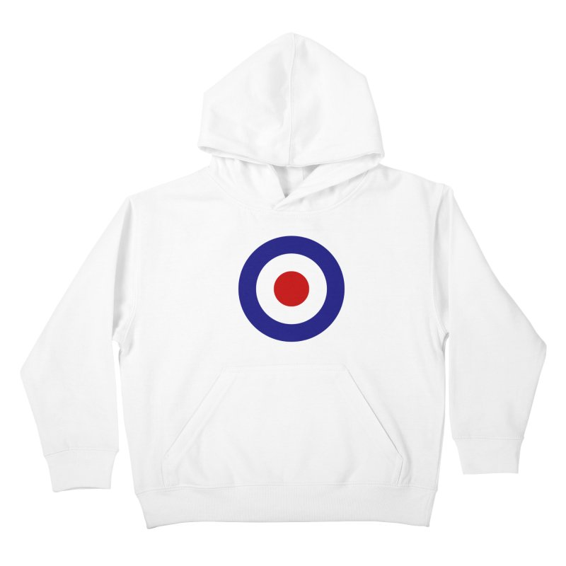 roundel Kids Pullover Hoody by Brimstone Designs