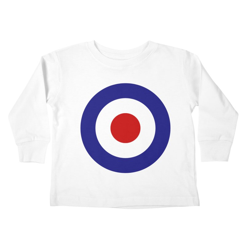 roundel Kids Toddler Longsleeve T-Shirt by Brimstone Designs