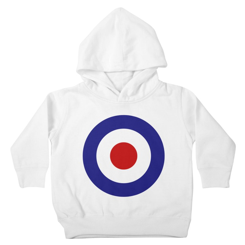 roundel Kids Toddler Pullover Hoody by Brimstone Designs