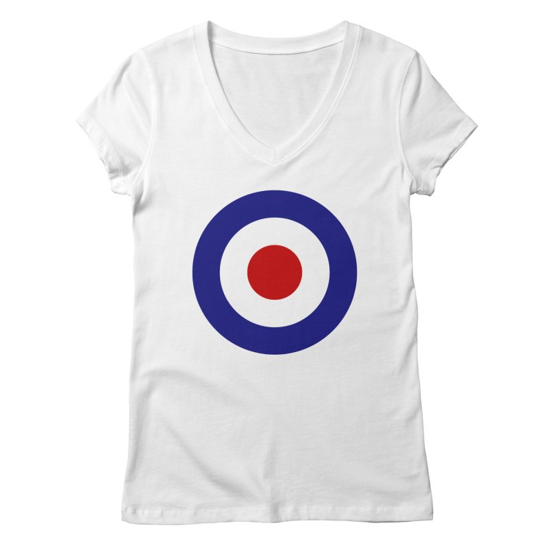 roundel Women's V-Neck by Brimstone Designs