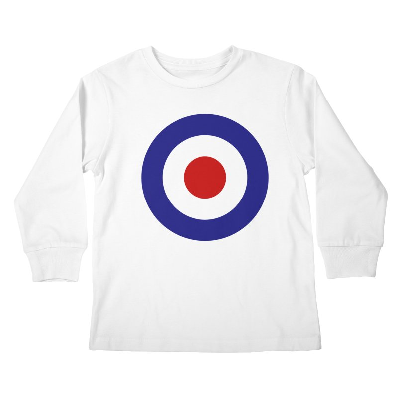 roundel Kids Longsleeve T-Shirt by Brimstone Designs
