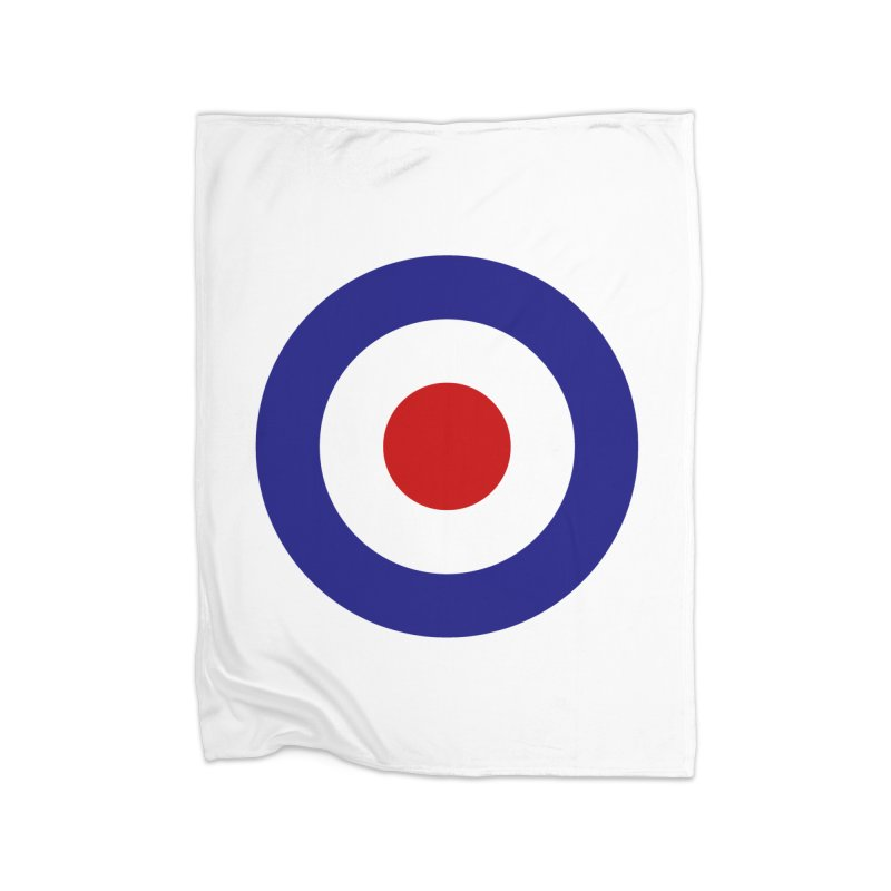roundel Home Blanket by Brimstone Designs