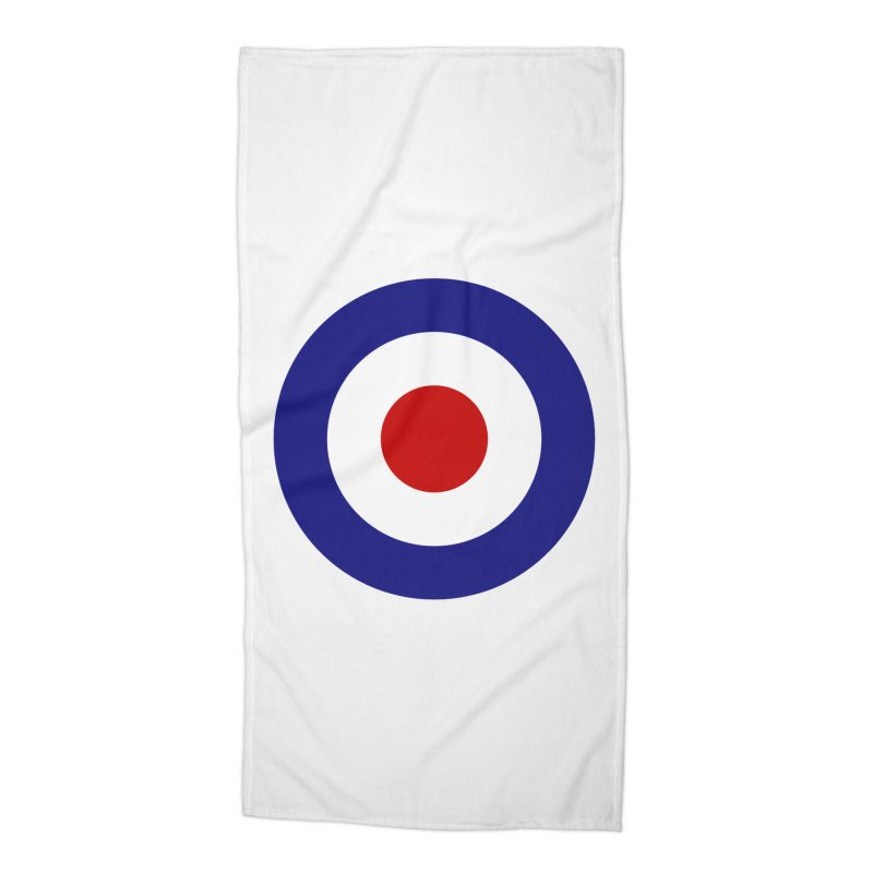 roundel Accessories Beach Towel by Brimstone Designs
