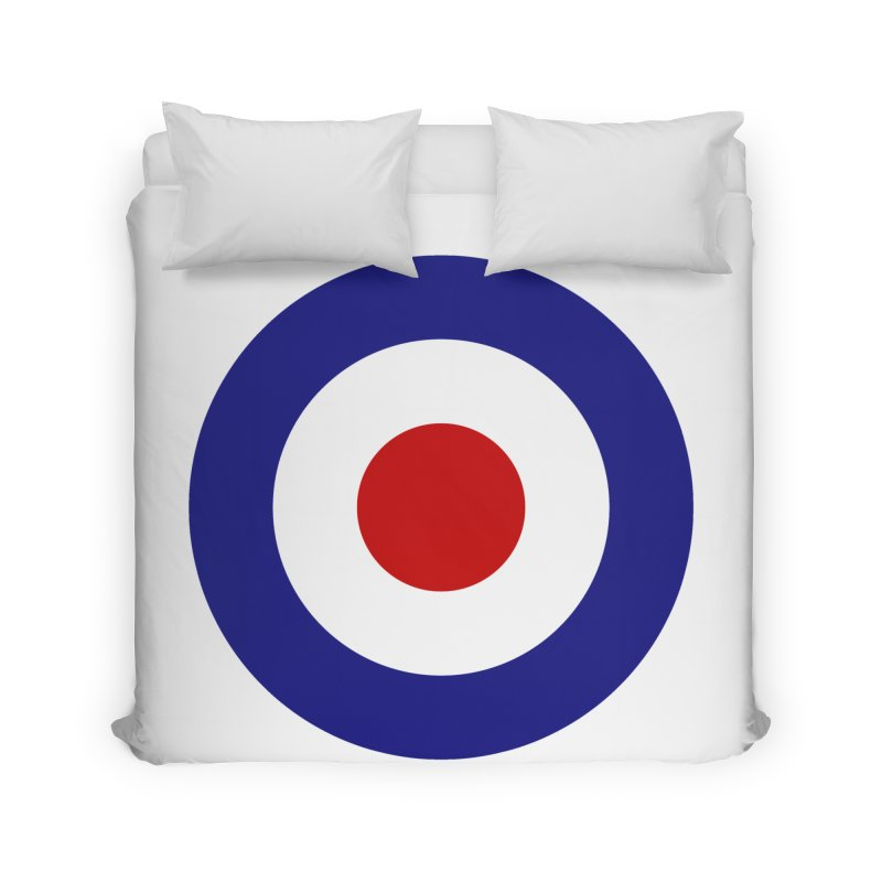 roundel Home Duvet by Brimstone Designs