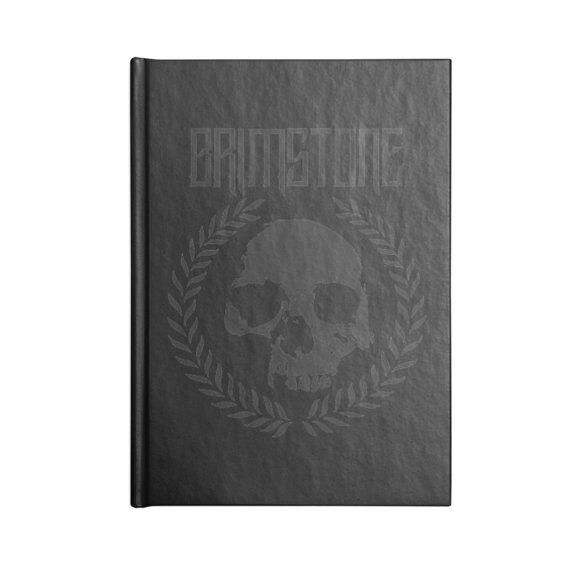 smoke logo Accessories Notebook by Brimstone Designs