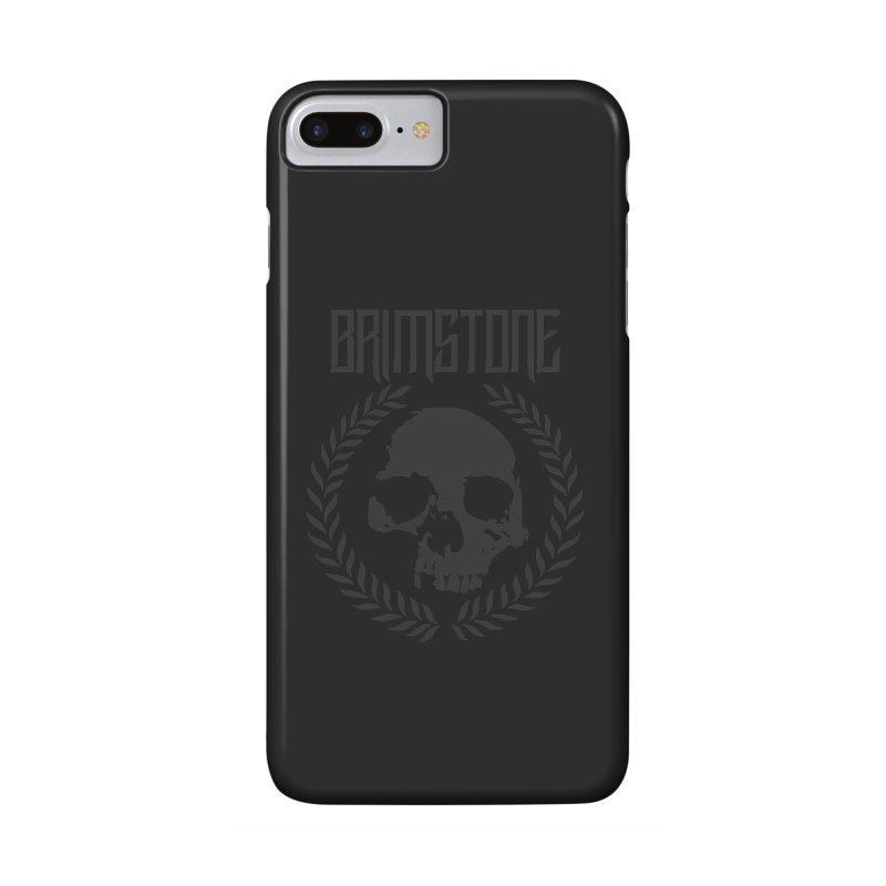 smoke logo Accessories Phone Case by Brimstone Designs
