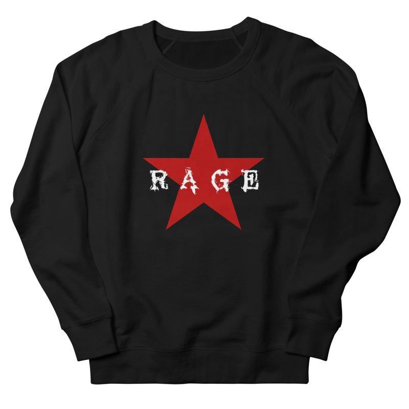 rage Men's Sweatshirt by Brimstone Designs