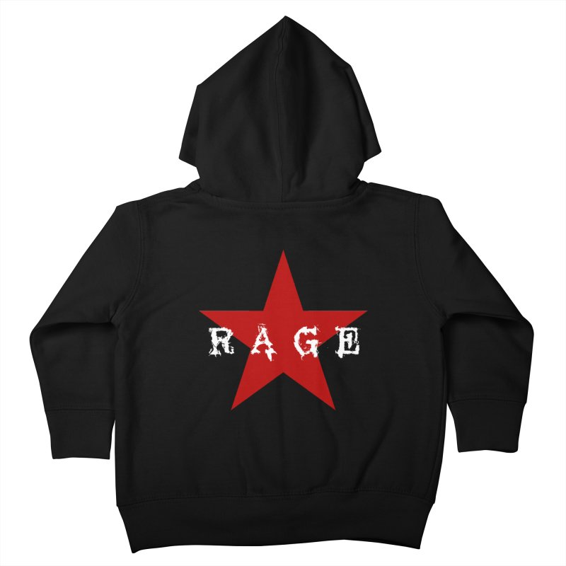 rage Kids Toddler Zip-Up Hoody by Brimstone Designs
