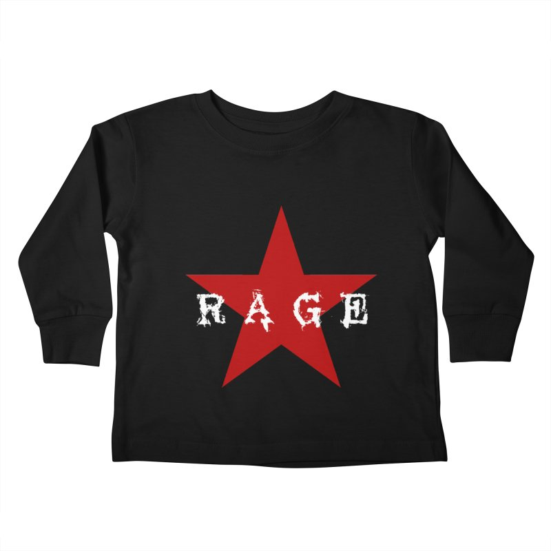 rage Kids Toddler Longsleeve T-Shirt by Brimstone Designs