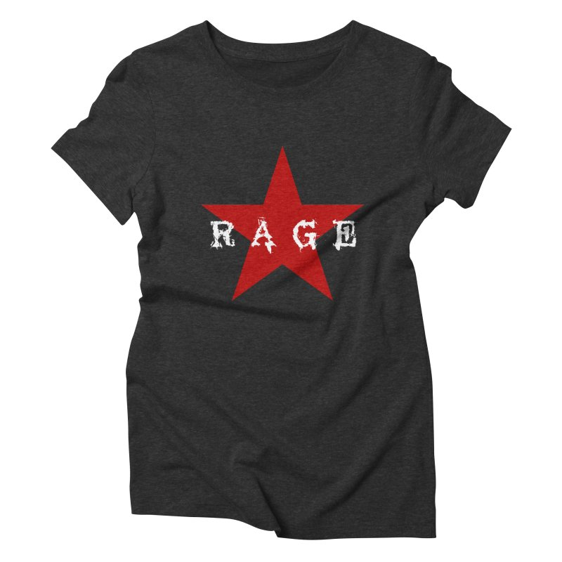rage Women's Triblend T-shirt by Brimstone Designs