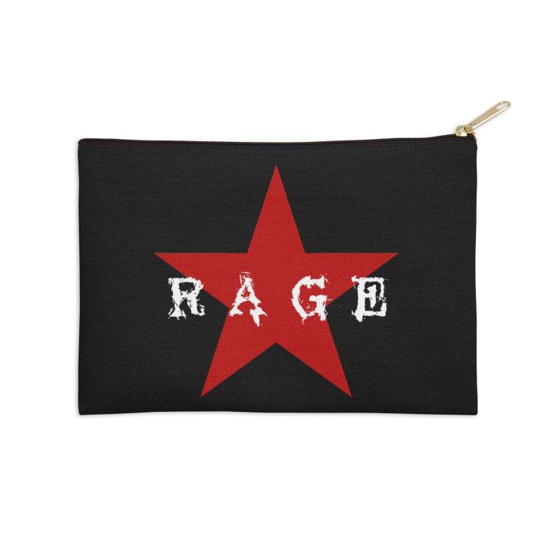 rage Accessories Zip Pouch by Brimstone Designs