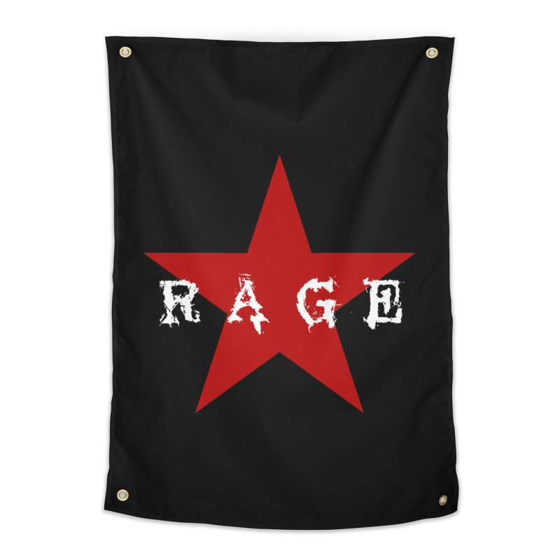 rage Home Tapestry by Brimstone Designs