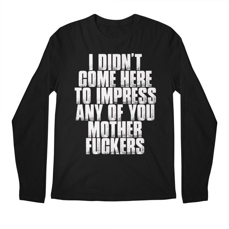 impress Men's Longsleeve T-Shirt by Brimstone Designs