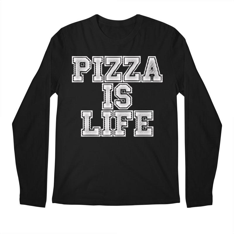 PIZZA Men's Longsleeve T-Shirt by Brimstone Designs