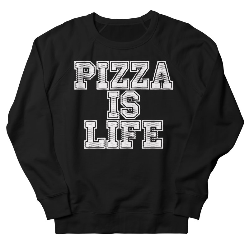 PIZZA Women's Sweatshirt by Brimstone Designs