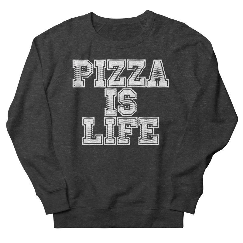 PIZZA Men's Sweatshirt by Brimstone Designs