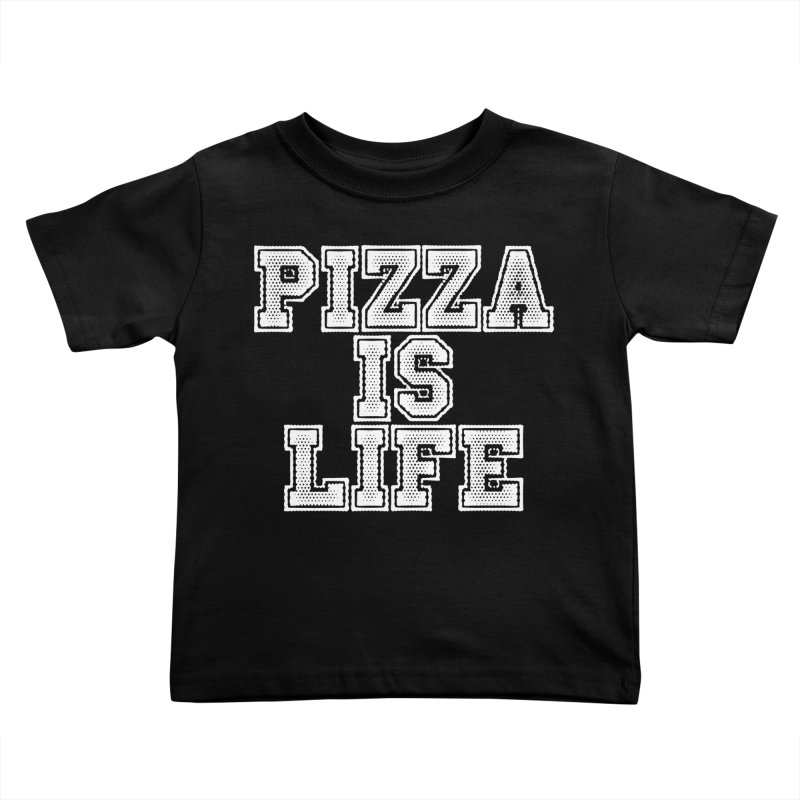 PIZZA Kids Toddler T-Shirt by Brimstone Designs