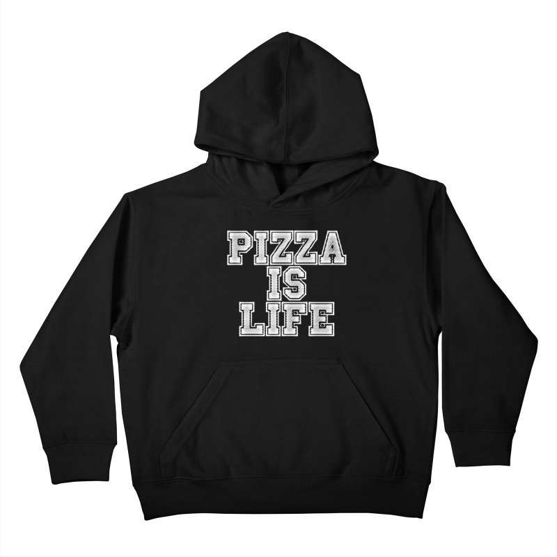 PIZZA Kids Pullover Hoody by Brimstone Designs